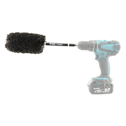 Chemical Guys Power Woolie Microfiber Wheel Brush with Drill Adapter