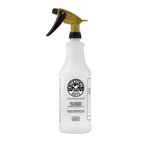 Chemical Guys Professional Acid Resistant Heavy Duty Bottle & Gold Sprayer