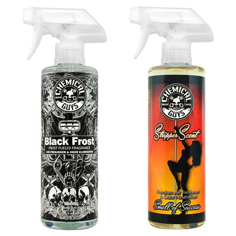 Chemical Guys Black Frost & Stripper Scent Combo