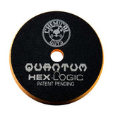 "Chemical Guys 5.5"" Hex Logic Quantum Orange Medium-Heavy Cutting Pad"