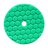 "Chemical Guys 5.5"" Hex Logic Quantum Green Heavy Polishing Pad"