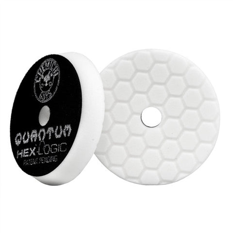 "Chemical Guys 5.5"" Hex Logic Quantum White Light-Medium Polishing Pad"