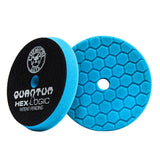 "Chemical Guys 5.5"" Hex Logic Quantum Blue Polishing/Finishing Pad"