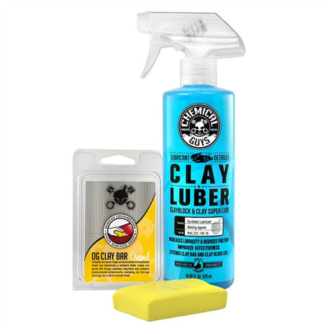 Chemical Guys Clay & Luber Light/Medium Combo