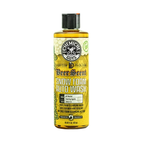 Chemical Guys Beer Scent Snow Foam Auto Wash