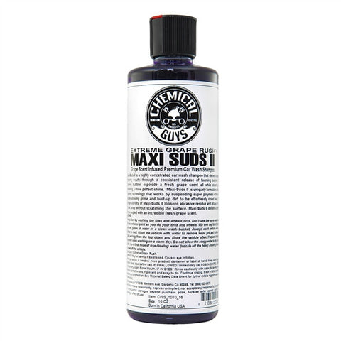 Chemical Guys Maxi Suds II Extreme Grape Rush