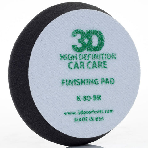 "3D 5.5"" Black Finishing Pad"