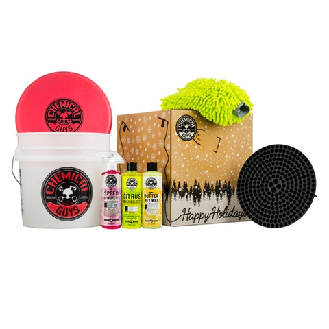 Chemical Guys Wash and Shine Detailing Bucket Gift Set