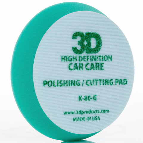 "3D 5.5"" Green Polishing / Cutting Pad"
