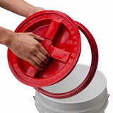 Chemical Guys Gamma Seal Lid - Red