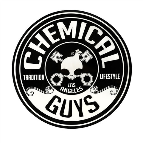 "Chemical Guys 5"" Circle Chemical Guys Logo Sticker"
