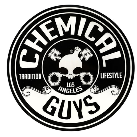"Chemical Guys 8"" Circle Chemical Guys Logo Sticker"