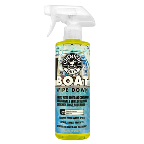 Chemical Guys Boat Wipe Down Quick Detailer & Water Spot Remover