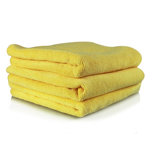 Chemical Guys Ultra Fine Microfiber Towels - Yellow 3pk
