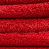 Chemical Guys Happy Ending Edgeless Buffing Towel Red 3pk