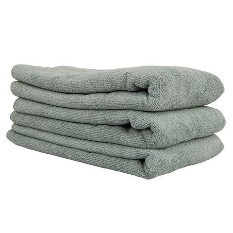 Chemical Guys Workhorse XL Microfiber Towels - Gray 3pk