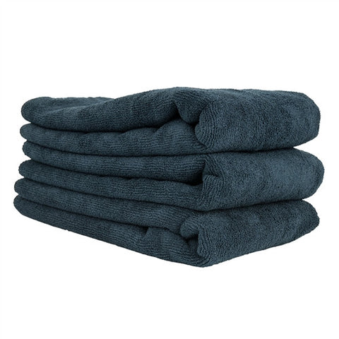 Chemical Guys Workhorse XL Microfiber Towels - Black 3pk