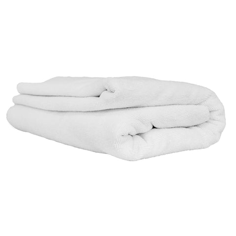 Chemical Guys Elegant Edgeless Microfiber Towel White