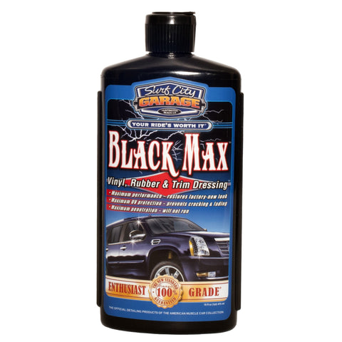 Surf City Garage Black Max, Vinyl, Rubber & Trim Dressing