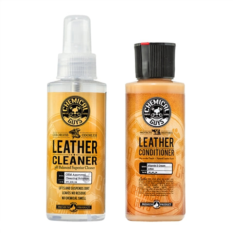 Chemical Guys Complete Leather Care Sample Combo