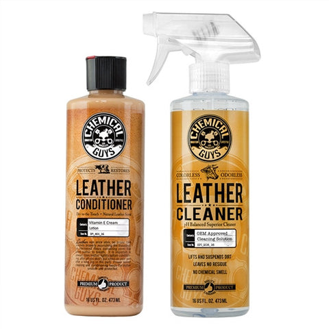 Chemical Guys Complete Leather Care Combo