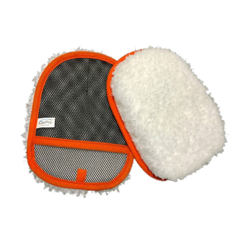 CarPro Hand Wash Twin Blend Microfibre Wash Mitt