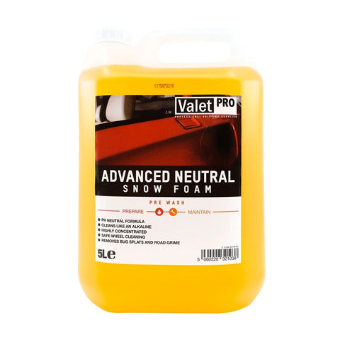 Valet Pro Advanced Neutral Snow Foam - 5 Litre