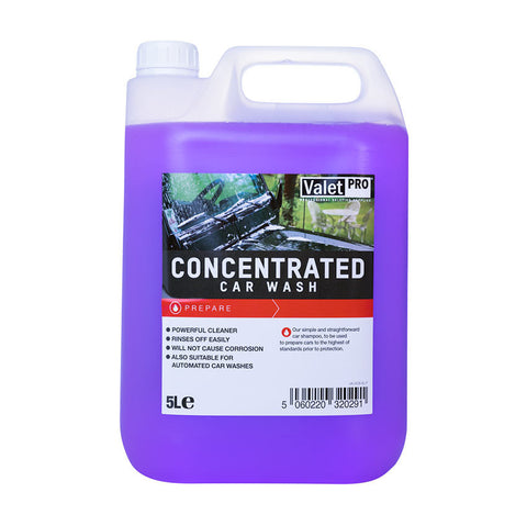 Valet Pro Concentrated Car Shampoo - 5 Litre