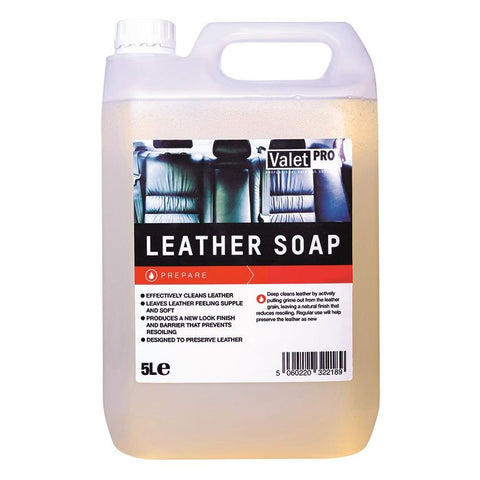 Valet Pro Leather Soap - 5 Litre
