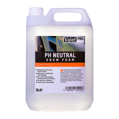 Valet Pro pH Neutral Snow Foam - 5 Litre