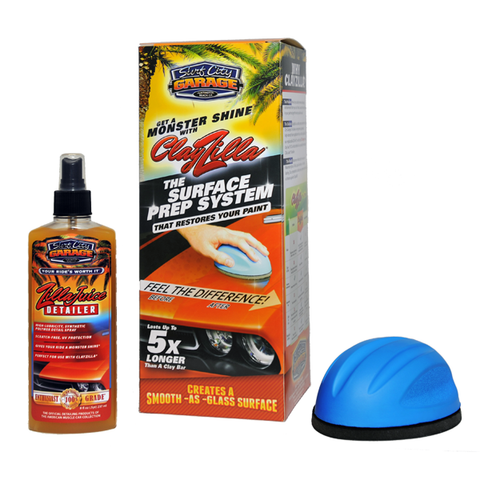 Surf City Garage ClayZilla Surface Prep System