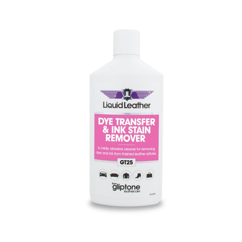 Gliptone Liquid Leather Dye Transfer & Ink Stain Remover