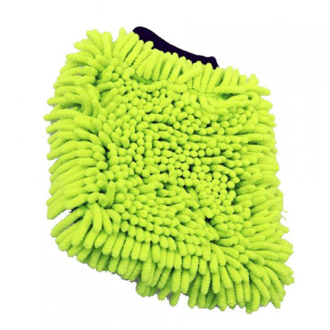 Joe's Chenille Noodle Wash Mitt - Fluorescent Yellow