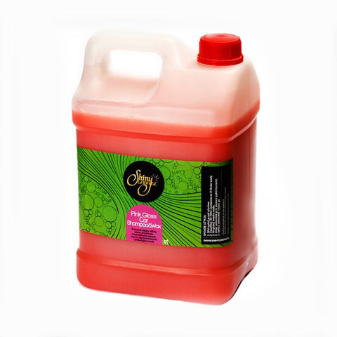 Shiny Garage Pink Gloss Car Shampoo & Wax - 5 Litre