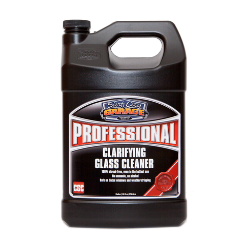 Surf City Garage Professional Clarifying Glass Cleaner - 1 Gallon