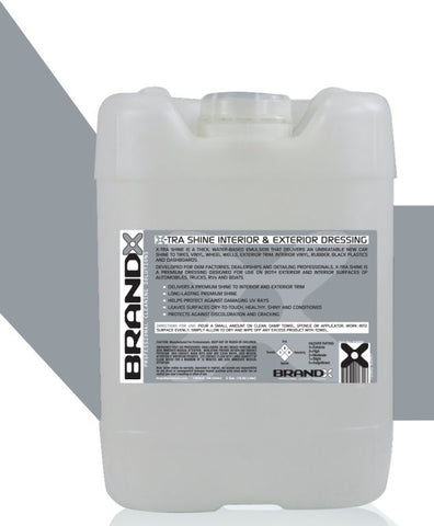 BrandX X-Tra Shine Interior & Exterior Dressing - 5 Gallon