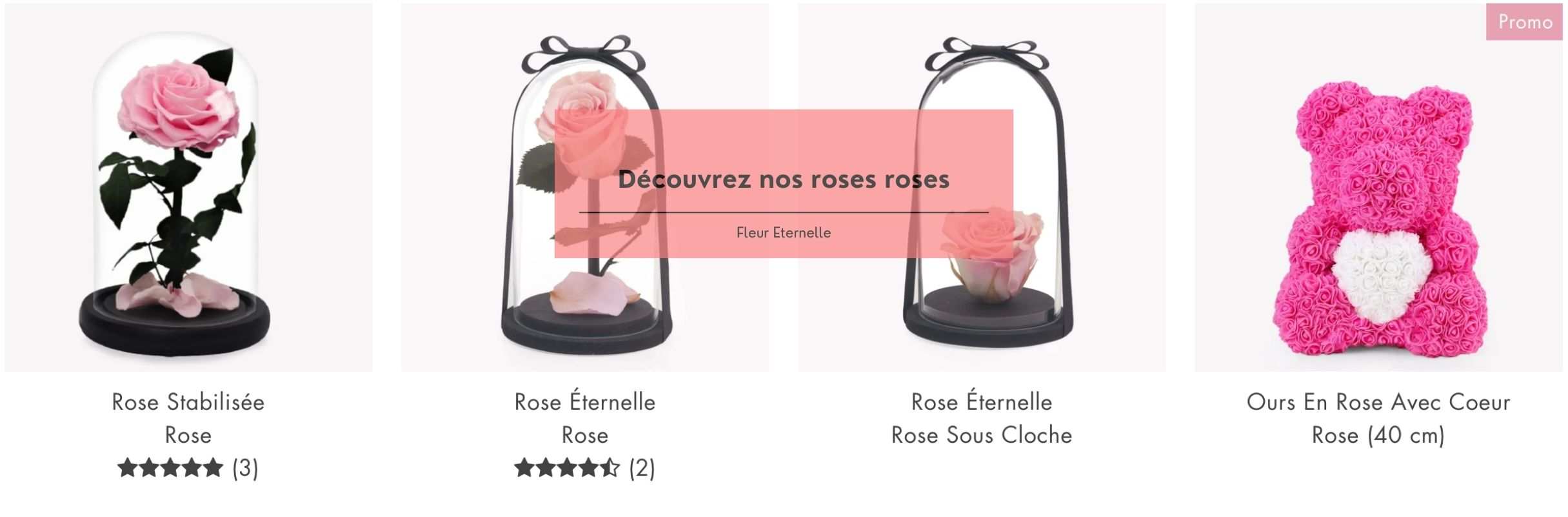 collection rose rose