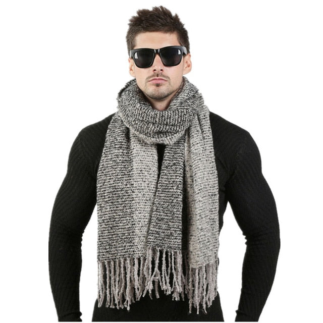 Men Fashion Design Scarves
