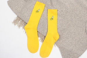Cartoon Colored Ankle Socks