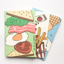 Load image into Gallery viewer, Funny Delicious Food Vegetable  Notebook