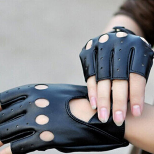 Half Finger Driving Women Fashion Gloves
