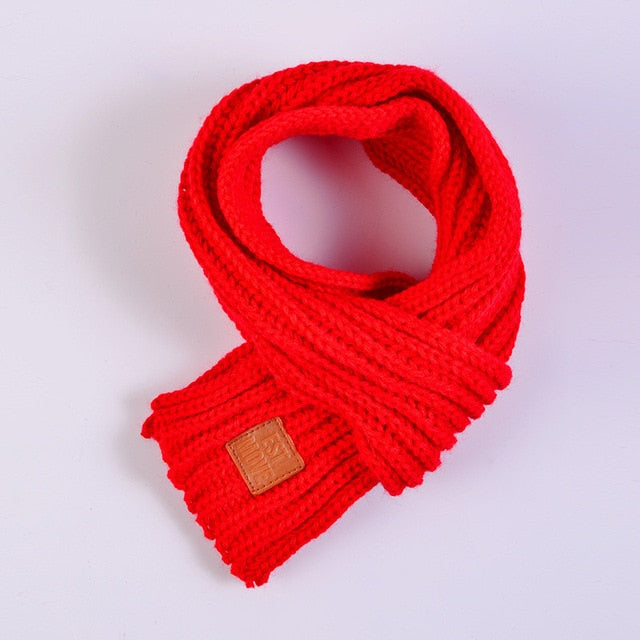 Winter Kids Scarves Warm Scarf