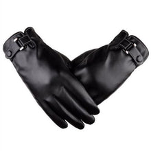 Load image into Gallery viewer, Plus Velvet men's genuine leather gloves