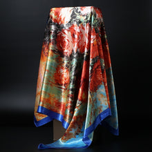 Load image into Gallery viewer, Print Satin Silk Scarf