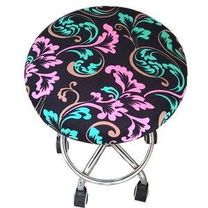 Round Chair Cover Bar Stool