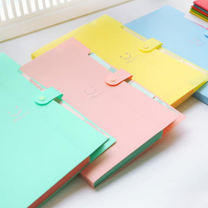 Multi-layer information papers folder