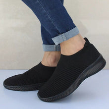 Load image into Gallery viewer, Women Shoes Knitting Sock Sneakers