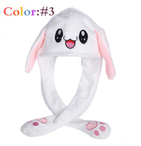 Plush Rabbit Pinching Bunny Ear Hat
