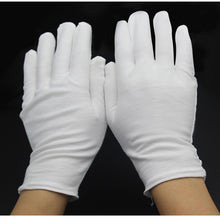 Load image into Gallery viewer, White Cotton Gloves