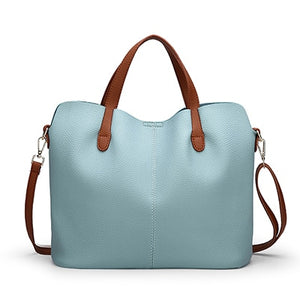Leather shoulder crossbody bags